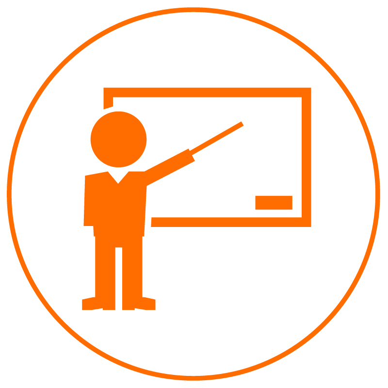 teachers Icon for teaching assistance
