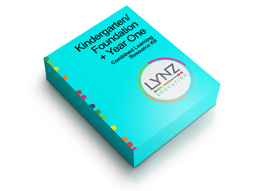 Combined Kindergarten + Year One Learning Resource Software Box